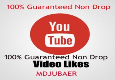 [Guaranteed Non Drop ] 444+ Real Youtube video likes