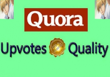 Get 25+ HQ worldwide Quora up-votes + 25 Followers