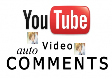 Get YouTube 100+auto Comments+ 100+video Likes