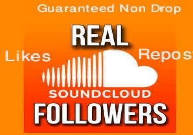 Soundcloud Real 100+Followers+100+Likes+100+Repost