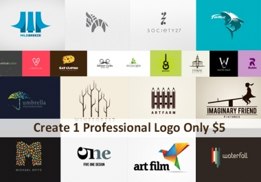 Create a Professional , Unique & Eye Catching And Killer Logo Design