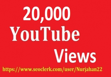 Safe 25,000 Real Non ouTube Views +300 YouTube Likes Bouns 12-24 Hours   in delivery