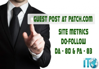 Publish A Guest Post On Patch Dofollow