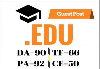 High Authority Educational Guest Post DA 90 PA 92