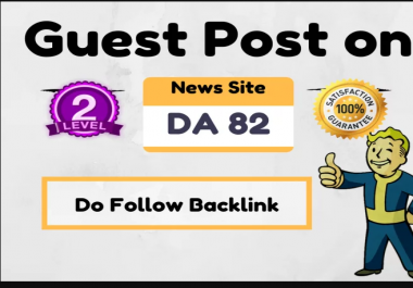 Guest Post On High Authority News Site DA 82