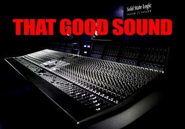Mixing And Mastering For Your Song Or Album