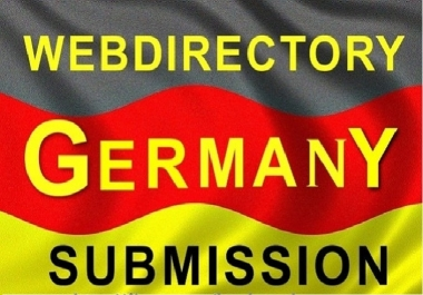 Promote your website in 50 GERMAN High PR Web Directory Submissions