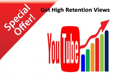 Get Non-drop Unique 5000-6000 High Quality Views Video  with 100 Likes within  24-72 houres