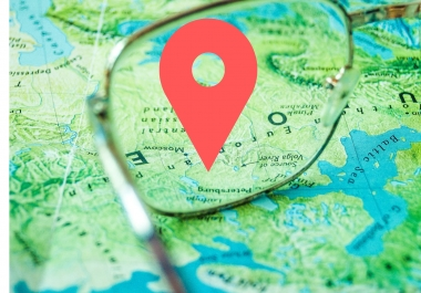 Create 300 Google Point Map Citations For Local SEO for