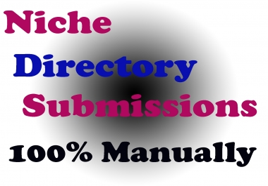 Do 30 Niche Directories Submissions Manually