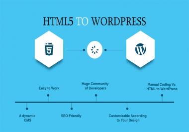 HTML5 to WordPress Theme Design
