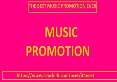 audio music promotion 120 custom comments
