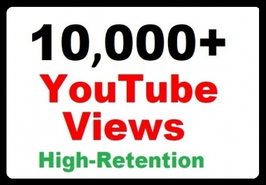 10000+ YouTube Video Promotion High Retention, Safe Ranking and Fastest delivery now