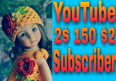 Limited offer safe 200 YouTube manually subscriber non drop very fast in 2-1 hours