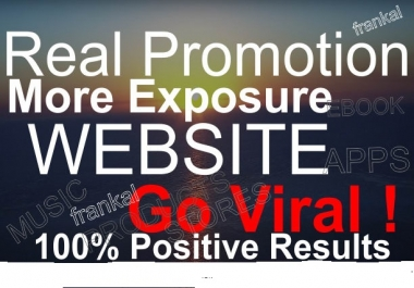 promote your website ebook apps store music video song to million social members
