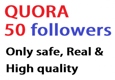 give you 120 Quora Followers