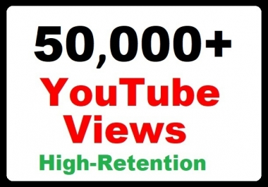 50000+ YouTube Video Promotion Safe and High Retention and Safe faster delivery