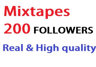 add 200 mixcloud followers