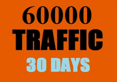 UNLIMITED Traffic Worldwide for one Month