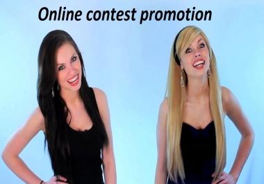 100 Promote Up Online Contest Votes superb