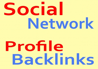 Get 1000+ Social Network Profile Backlinks