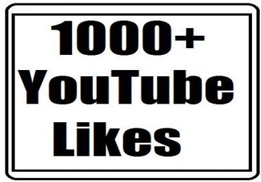1000+ youtube likes nondrop and supet fast