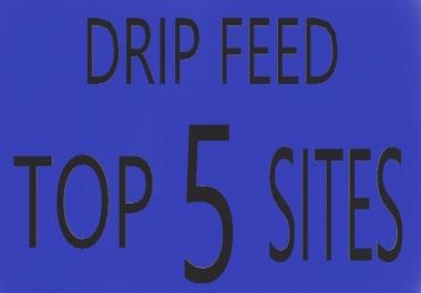 i do 1500 drip feed very slow social signals