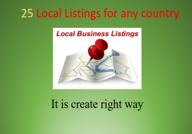 25 excellent Local Listings of Any Country