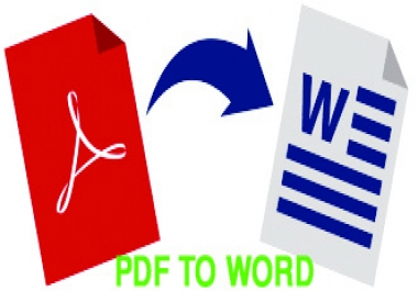 Special 100 Page Data Entry Work PDF To Ms Word
