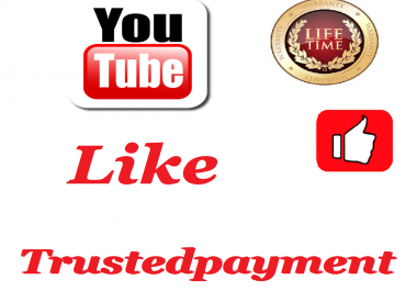 400 HQ Safe  youtube like+1 comment Super Fast    24 hours Delivery Time
