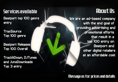 Beatport Genre Releases Top 100 entry