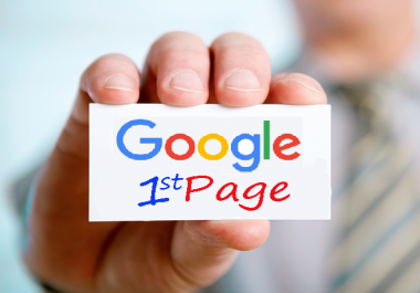 Rank Your Website Google FIRST Page