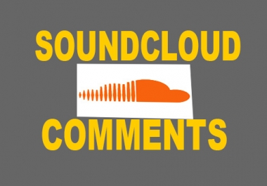 Add 100 soundcloud USA comments or 100 followers to your track