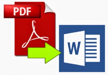 Convert PDF To Word Documents File