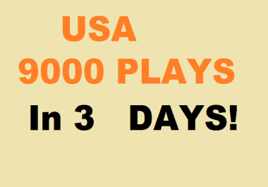 9000 Play USA promotion with 300 follower + 50 Comment in 3 days