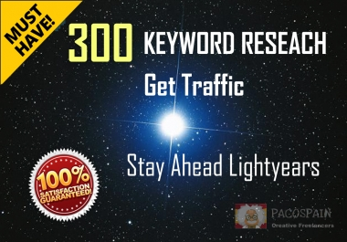 Keywords Research,50-300 key phrases