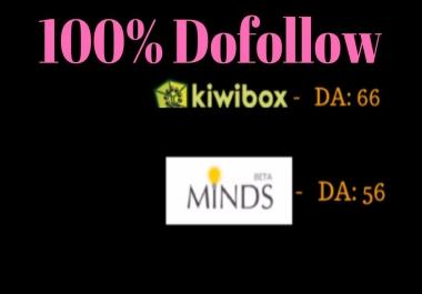 Publish A Guest Post On Minds - DA 59, Kiwibox - DA 69 Do-follow