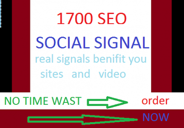 2000 real and TOP high social signal  power blog boost pack,3 sites