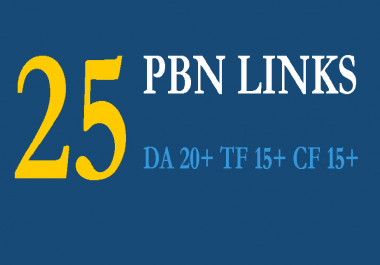 write 25 Unique Posts on my PBN Linking to your Site