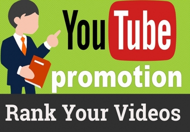 Youtube SEO Campaign- Create Manually High 60 PR9  Backlinks for Youtube Organic Ranking