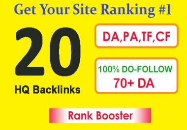 set up 20 seo backlinks from pr9 high authority domains