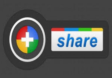 105 Google plus share   +  500 LinkedIn free  high pr exclusive for $1