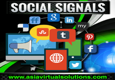 Provide 6000 Effective SEO Social Signals, Quality Build