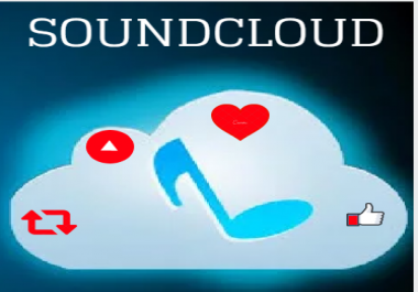 Get Soundcloud 10,000 High Retention Plays,50 Likes,30 Repost and Some Comments within 24 Hours