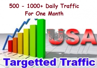 Quality Traffic - Drive 100 - 300+ Daily  Unique Traffic For One Month - Google Safe - Trusted Seller - Limited Time Offer LIMITED Time OFFER !!!