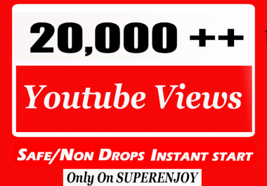 20,000 + 20k YouTube Views with choice Extra service 1k 2k 3k 4k 5k 6k 7k 8k 9k 10K 15K 25K 40K 50K 100K Or 1000 2000 3000 4000 5000 6000 7000 8000 9000 10000 15000 20000 30000 40000 200K 500K Views