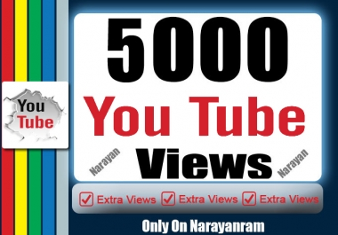 Get 5000 to 600 High-Quality YouTube Views Safe Instant Start