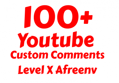 add 80+ Real Youtube Custom Com ments
