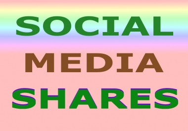 Provide Manually 200+ Social Media Shares for your website, blog, or any URL