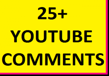 32+YouTube custom comment +70 YouTube Likes add